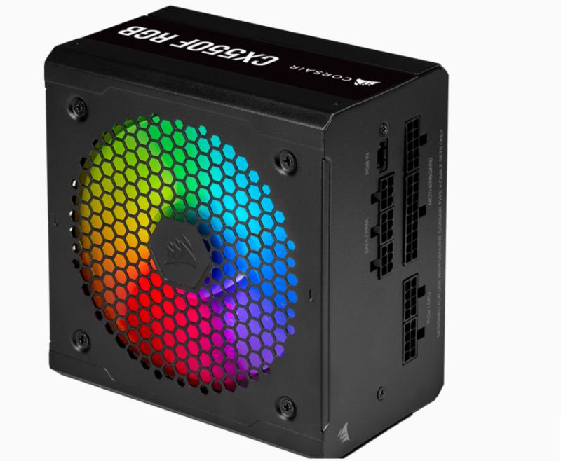 Corsair Fully Modular RGB PSU RM550F 550 W, 80 PLUS BRONZE certified