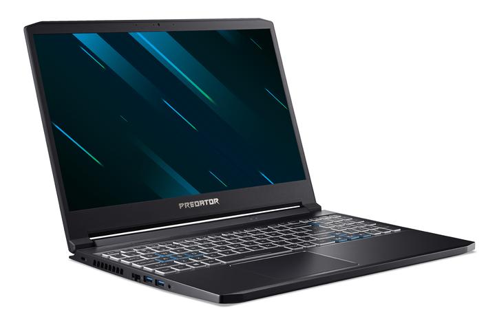 "Acer Predator Triton 300 PT315-52-55TU Black/Blue, 15.6 "", IPS, FHD, 1920 x 1080 pixels, Matt, Intel Core i5, i5-10300H, 16 GB, DDR4, SSD 512 GB, NVIDIA GeForce GTX 1660 Ti, GDDR6, 6 GB, No ODD, Windows 10 Home, Keyboard language English, Keyboard backlit, Warranty 24 month(s), Battery warranty 12 month(s)"