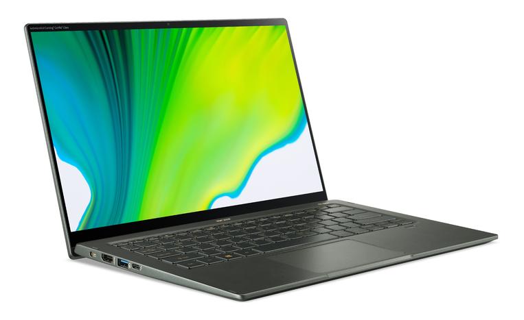 Acer Swift 5 SF514-55GT-538S 14 i5-1135G7/8GB/512GB/NVIDIA GF MX350/Win10/ENG kbd/2Y Warranty