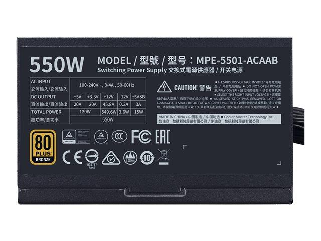 Cooler Master MPE-5501-ACAAB 550 W