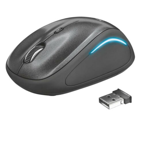 MOUSE USB OPTICAL WRL YVI FX/BLACK 22333 TRUST