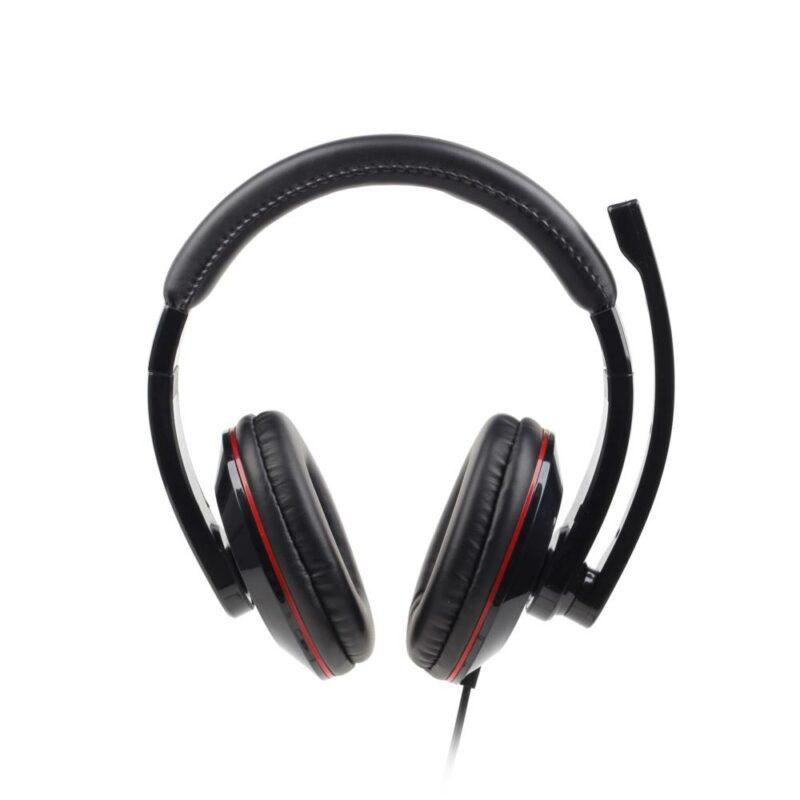 HEADSET STEREO USB BLACK/MHS-U-001 GEMBIRD