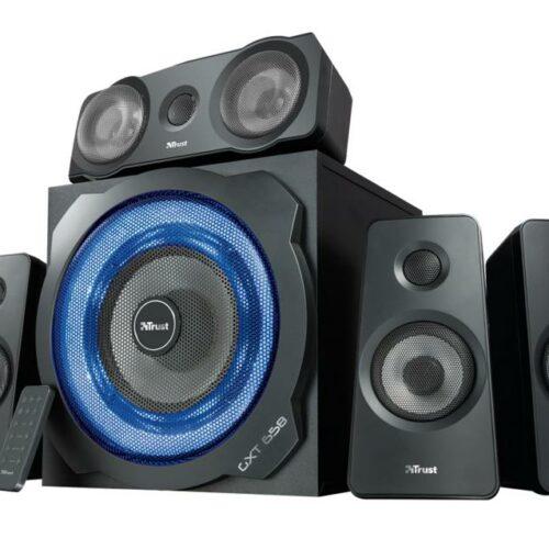Speaker|TRUST|P.M.P.O. 180 Watts|3xStereo jack 3.5mm|Black|21738
