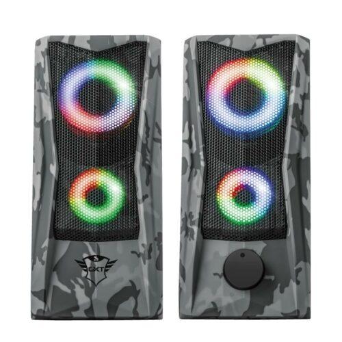 Speaker|TRUST|GXT 606 Javv RGB-Illuminated|P.M.P.O. 12 Watts|1xAudio-In|23379