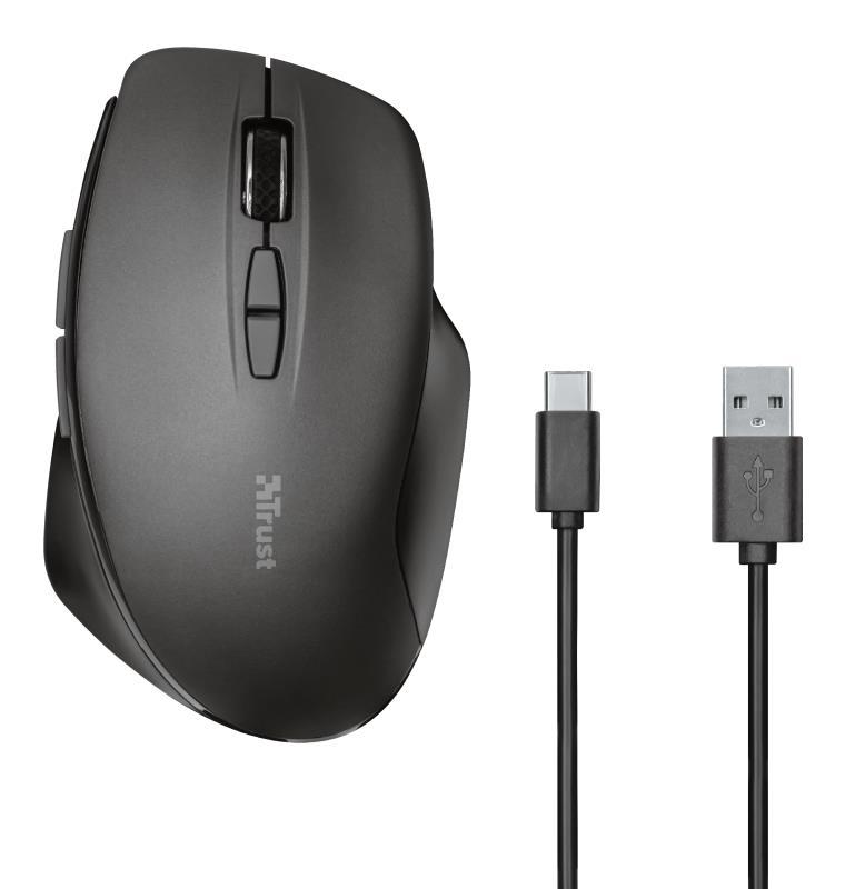 MOUSE USB OPTICAL WRL/THEMO 23340 TRUST