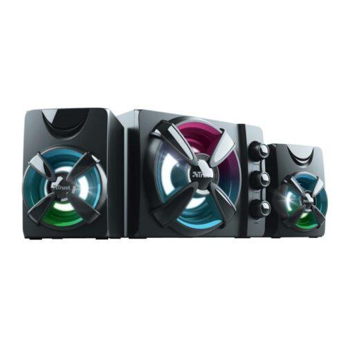 Speaker|TRUST|Ziva RGB|Black|23644