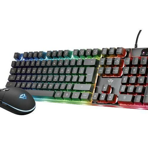 KEYBOARD +MOUSE OPT. GXT 838/AZOR 23289 TRUST