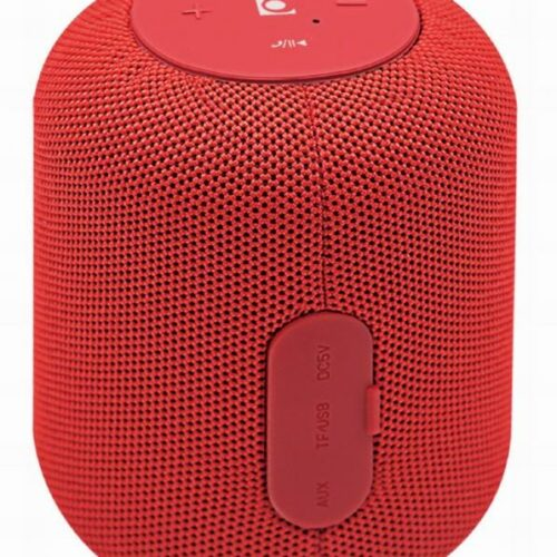Portable Speaker|GEMBIRD|Portable/Wireless|1xMicroSD Card Slot|Bluetooth|Red|SPK-BT-15-R