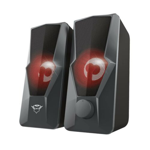 Speaker|TRUST|1xUSB 2.0|1xStereo jack 3.5mm|Black|23737