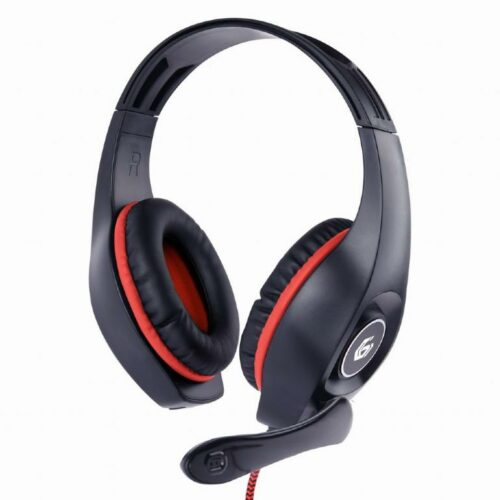 HEADSET GAMING/RED/BLACK GHS-05-R GEMBIRD