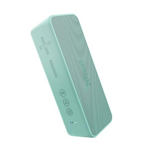 Portable Speaker|TRUST|Zowy Max Stylish Bluetooth Wireless Speaker|Portable/Waterproof/Wireless|1xUSB type C|1xStereo jack 3.5mm|1xMicroSD Card Slot|Bluetooth|Mint|23827