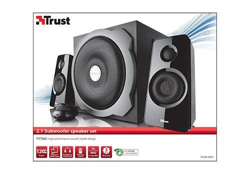 Speaker TRUST P.M.P.O. 120 Watts Black 19019