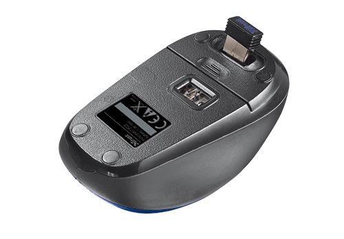 MOUSE USB OPTICAL WRL YVI/BLUE 19663 TRUST