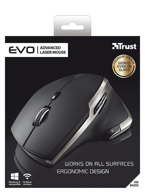 MOUSE USB LASER WRL EVO/ADVANCED 19829 TRUST