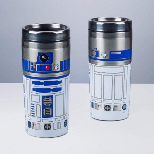 Star Wars: The Last Jedi – R2-D2 Travel Metal Mug, 450ml