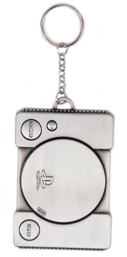 PlayStation – Console Metal Keychain