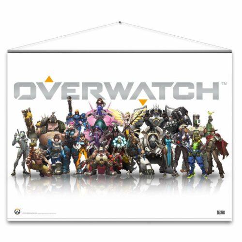 Wallscroll Overwatch – Heroes, 100x77cm