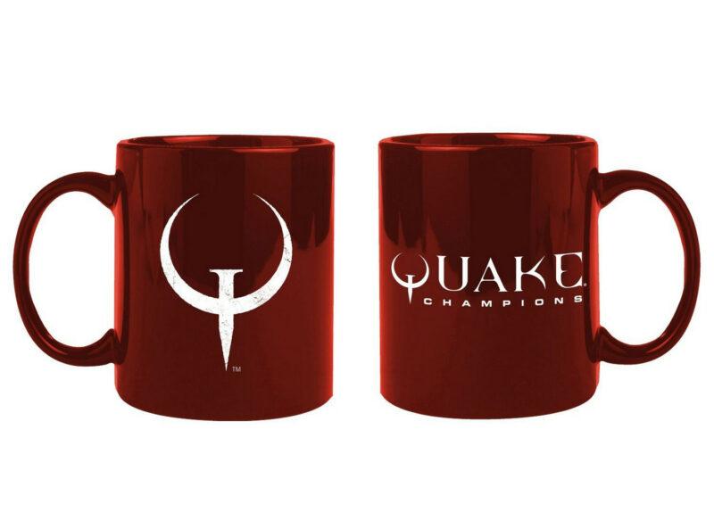 Quake Champions – Logo Mug Red, 320ml