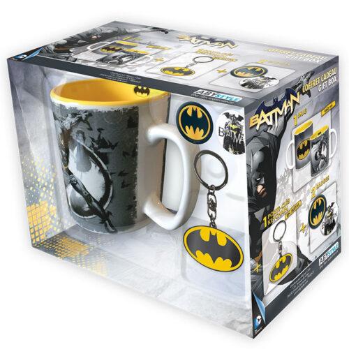Gift Box: DC Comics – Batman Mug, Keychain and Badges