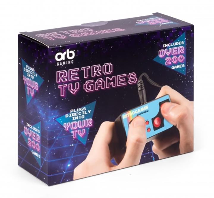 ORB Retro TV Games incl. Over 200 8-Bit Games