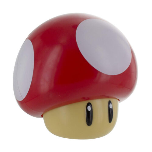 Super Mario – Mushroom Red Light with Sound, 12cm