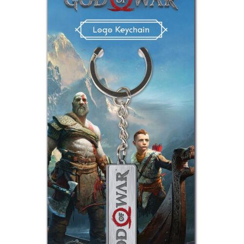 God of War – Logo Metal Keychain