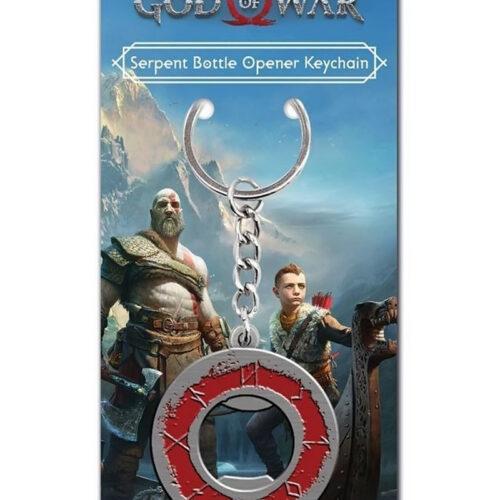 God of War – Serpent Bottle Opener Keychain