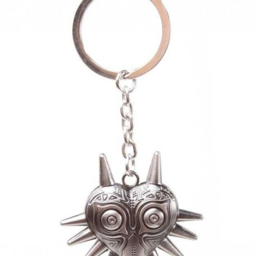 Legend of Zelda: Majora's Mask 3D – Mask Metal Keychain