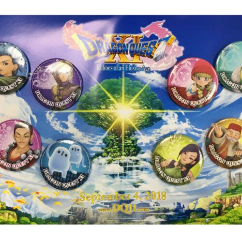 Dragon Quest XI: Echoes of an Elusive Age – Exclusive Pin Badges 8-Pack
