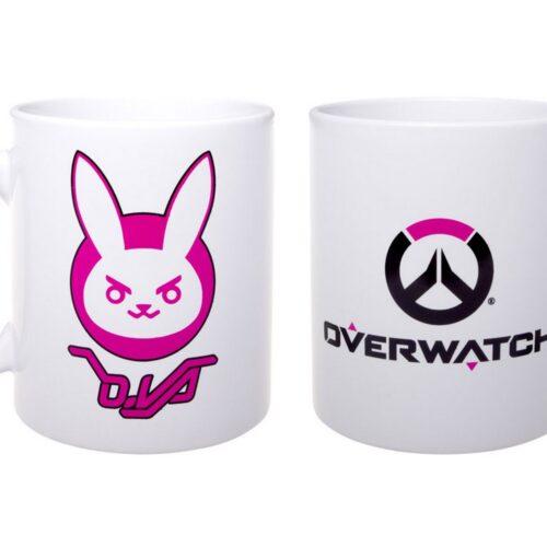 Overwatch – D.Va and Logo Mug, 330ml