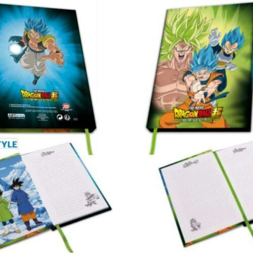 Dragon Ball Broly – Broly Vs Goku  Vegeta A5 Notebook