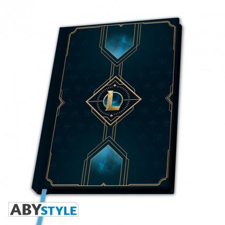 Notebook League of Legends – Hexteck Logo, Hardcover A5