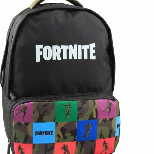 Fortnite – Backpack – Black/Multi