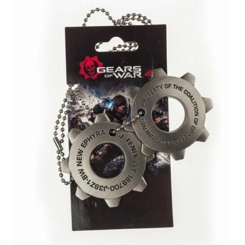 Gears of War – Crimson Omen Dog Tags