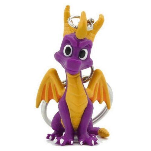 Spyro The Dragon – Spyro Rubber 3D Keychain