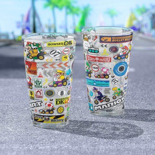 Paladone Mario Kart Glass