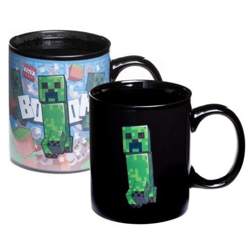 Paladone Minecraft Creeper Heat Change Mug