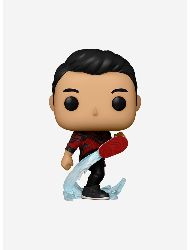 POP! Marvel Studios: Shang-Chi and the Legend of the Ten Rings – Shang-Chi Kick Bobble-Head Figure