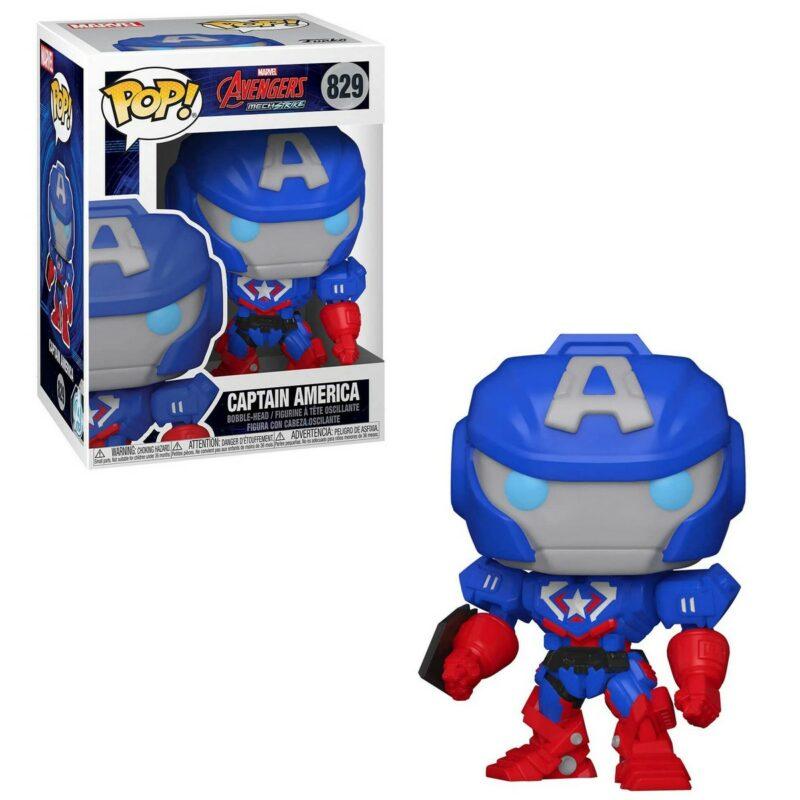 POP! Marvel Avengers MechStrike – Captain America Vinyl Bobble-Head