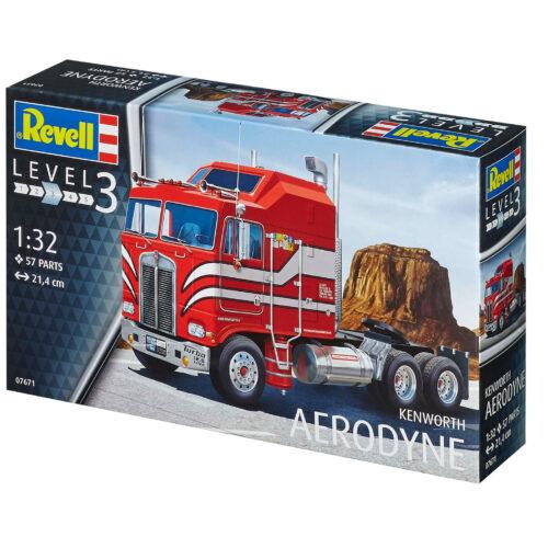 Revell plastic model Kenworth Aerodyne 1:32
