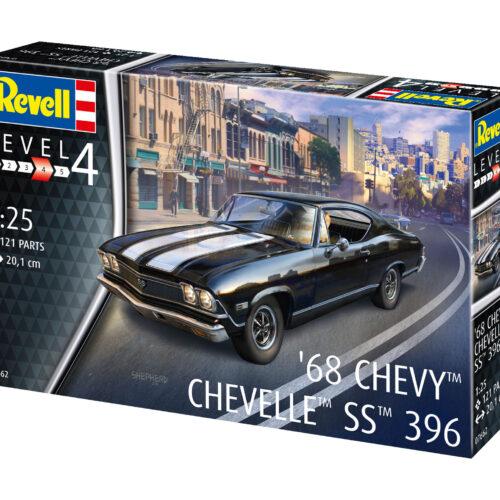 Revell plastic model 1968 Chevy Chevelle 1:25