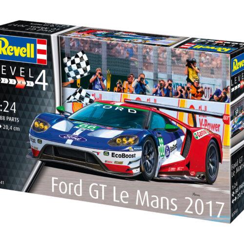 Revell plastic model Ford GT Le Mans 2017 1:24