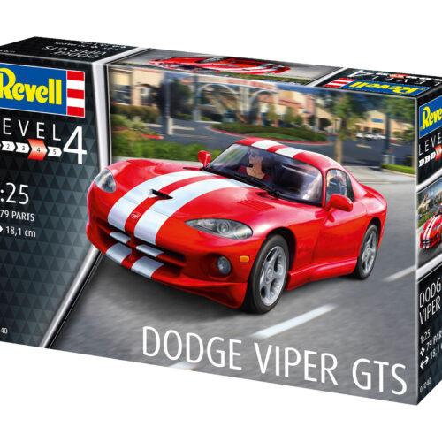 Revell plastic model Dodge Viper GTS 1:25