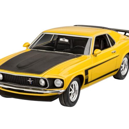 Revell plastic model 1969 Boss 302 Mustang 1:25