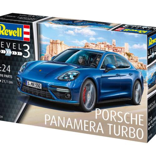Revell plastic model Porsche Panamera Turbo 1:24