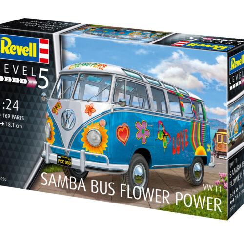 """Revell plastic model Samba T1 """"Flower Power"""" 1:24"""