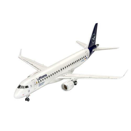 """Revell plastic model Embraer 190 Lufthansa """"New Livery"""" 1:144"""