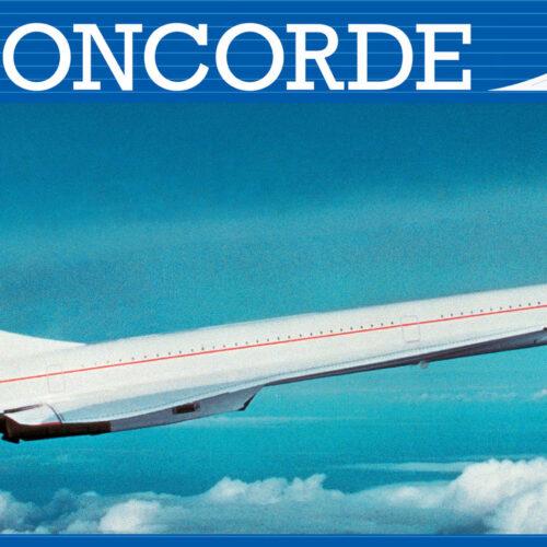 Revell plastic model Concorde 1:144