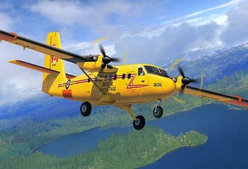 Revell plastic model DHC-6 Twin Otter 1:72