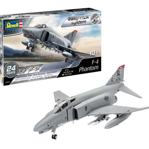 Revell F-4E Phantom Plastic Model1:72